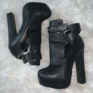 Mulki Black Booties